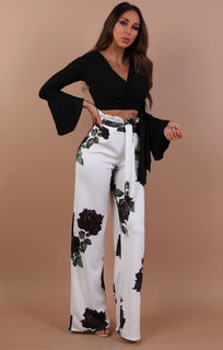 Black-bell-sleeve-wrap-crop-top-Payton