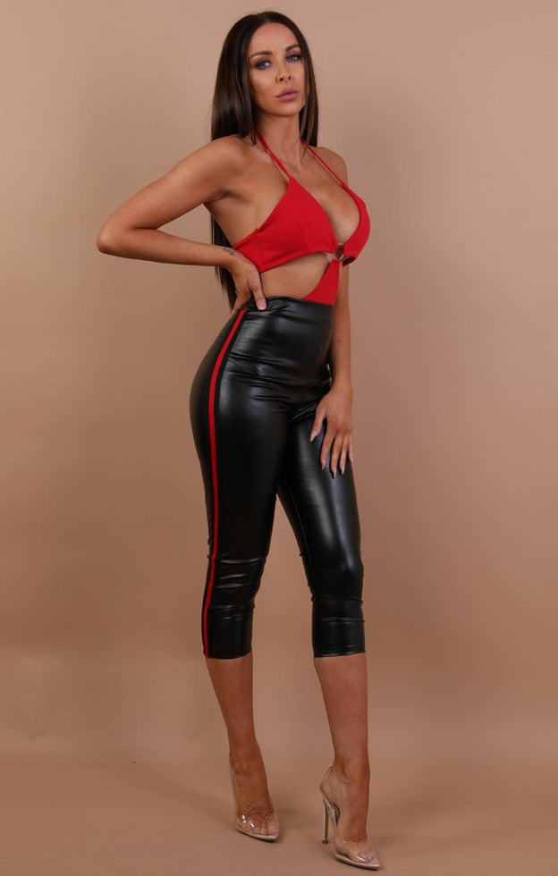 Black-Crop-Faux-Leather-Red-Stripe-Leggings