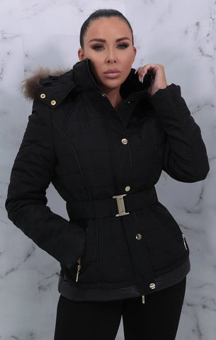 Black Fur Coats