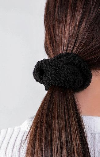 Black Borg Scrunchie - Tamzin