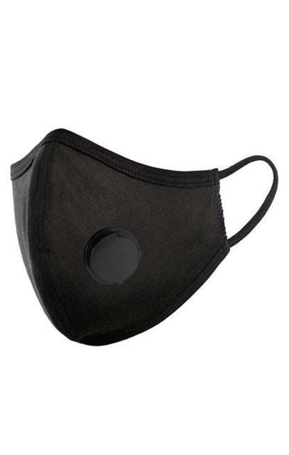 Black Filter Hygiene Face Mask