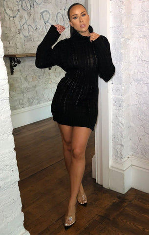 Black Jumper Dresses