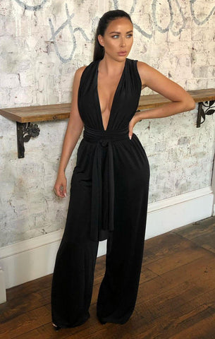 Black Multiway Jumpsuits