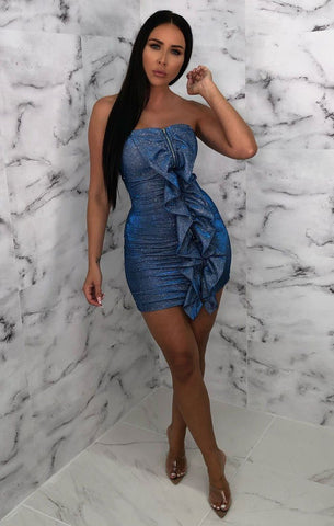 Blue Bodycon Dresses