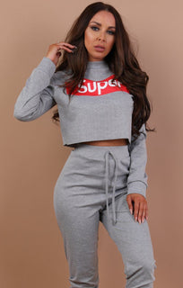 Grey-cropped-Super-Print-loungewear-set