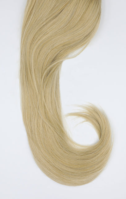 "California Blonde Thick 20"" Synthetic Drawstring And Clip Straight Ponytail - Koko"