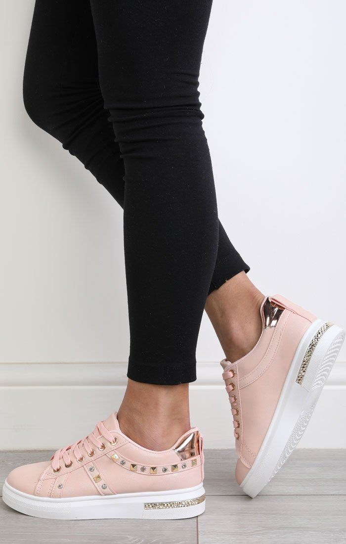 Nude-studded-Diamante-Trainers-charlotte