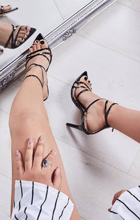 Black-Patent-Strappy-Point-Heels