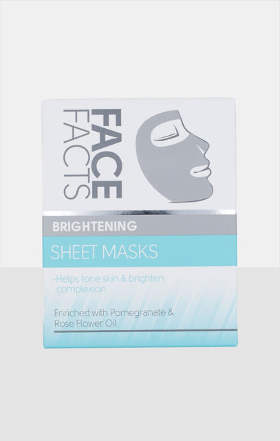 Face Facts Brightening Sheet Masks