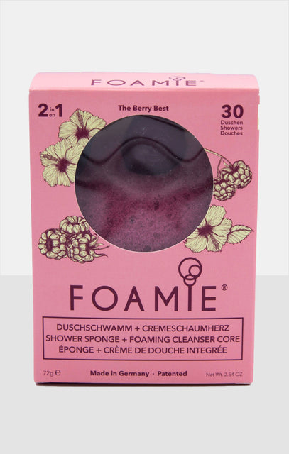 Foamie The Berry Best Built In Shower Cream Sponge