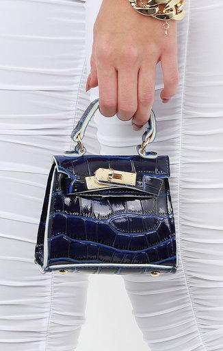 Navy Blue Mini Bag - Laura
