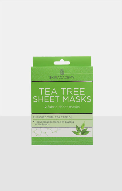 Skin Academy Tea Tree Sheet Face Masks
