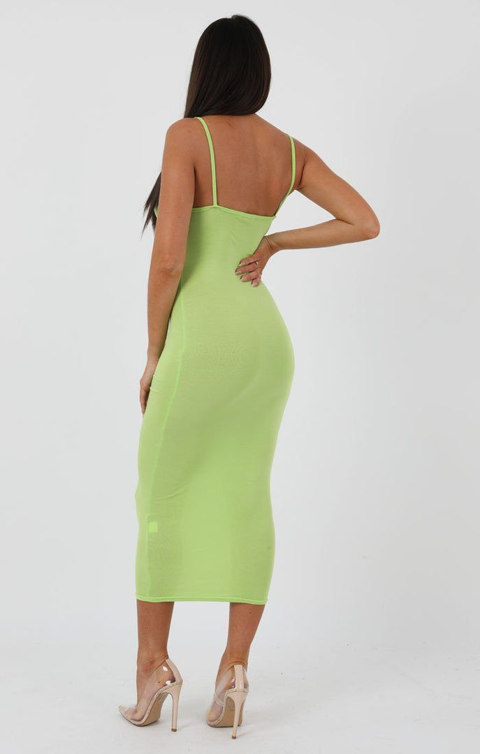 Lime-Square-Neck-Strappy-Midi-Dress-Carly