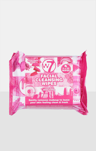 W7 2 Pack Facial Cleansing Wipes