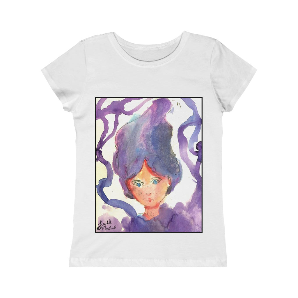 Purple Fairy Girls Princess Tee
