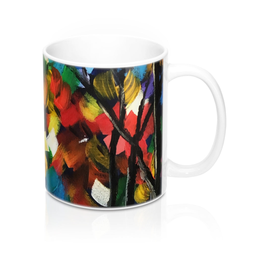 Colors in the Forest Mug 11oz