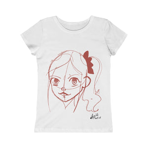 Sketch Girl Princess Tee