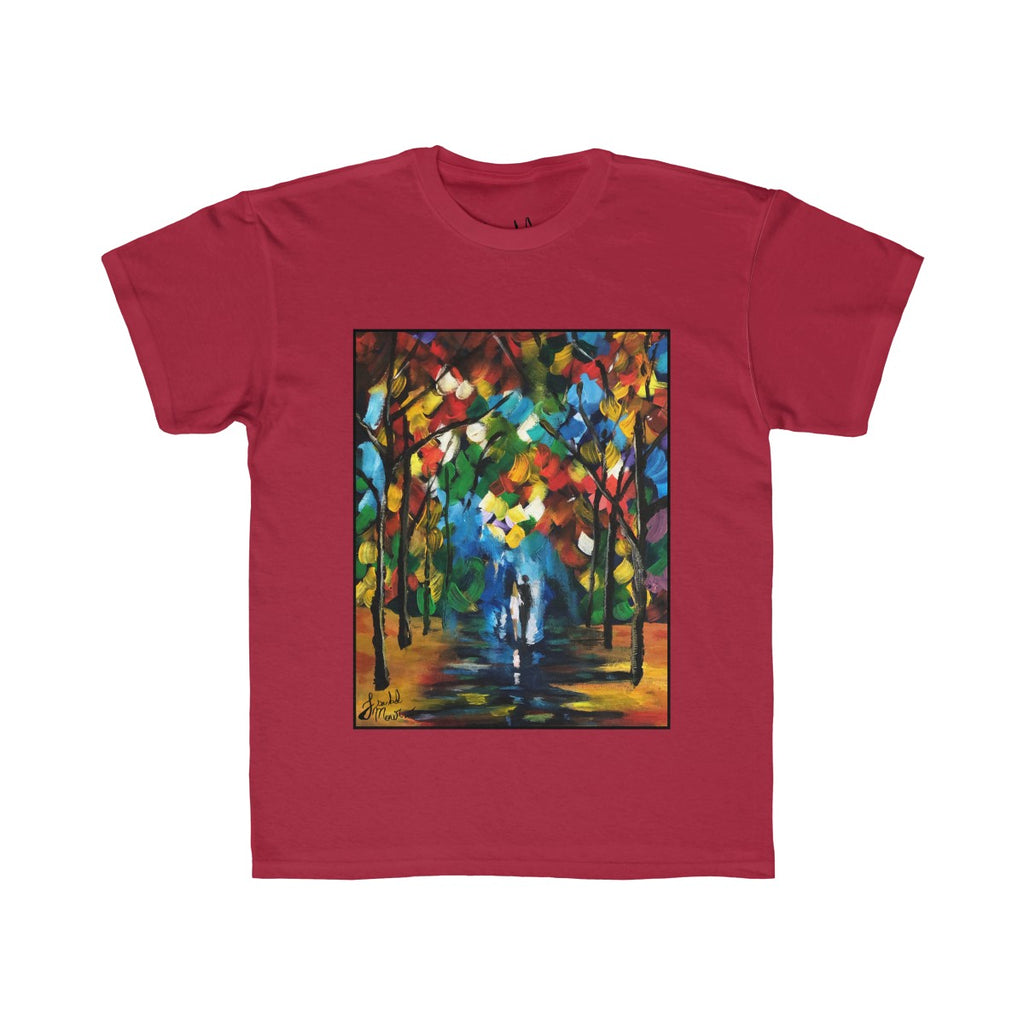 Colors in the Forest Kids Regular Fit Tee