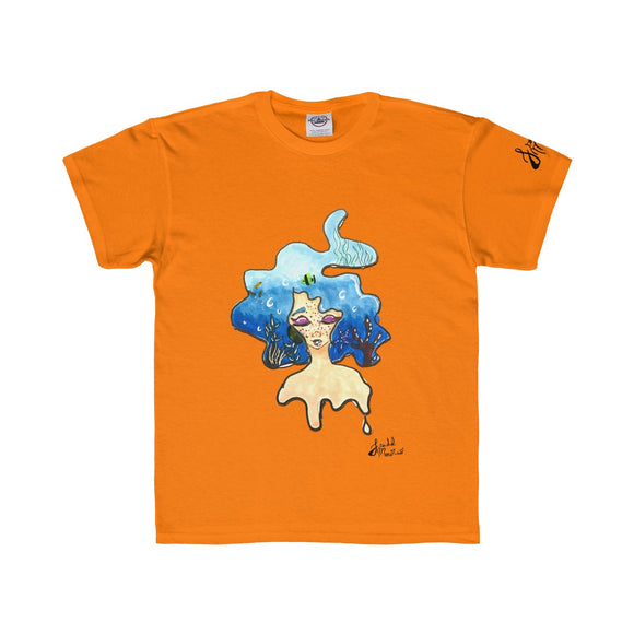 Mermaid Dreaming Kids Regular Fit Tee