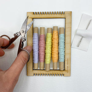 Tiny Weaving Kit: Purity