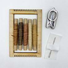 Load image into Gallery viewer, Tiny Weaving Kit: Tranquility