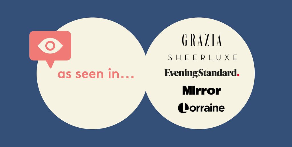 Oh Mumma Beauty Box Press Features - The best monthly beauty subscription box - Grazia, Sheerluxe, Evening Standard, Mirror, Lorraine.
