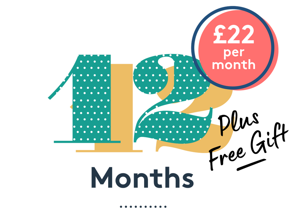 Mum + Baby 12 Month Subscription