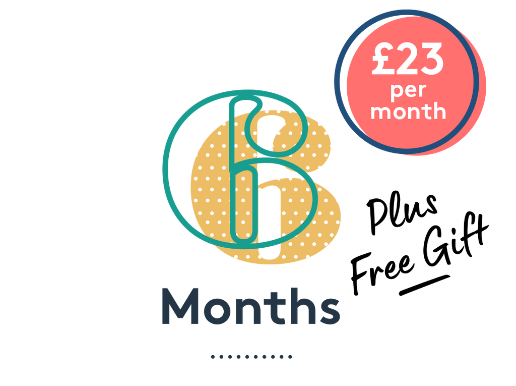 Mum + Baby 6 Month Subscription