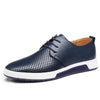 Men's Shoes Casual Leather Fashion Flat 2020 New Arrival