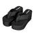 Women Wedge Platform Flip Flops