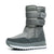 Men Women Snow Boots Color Waterproof