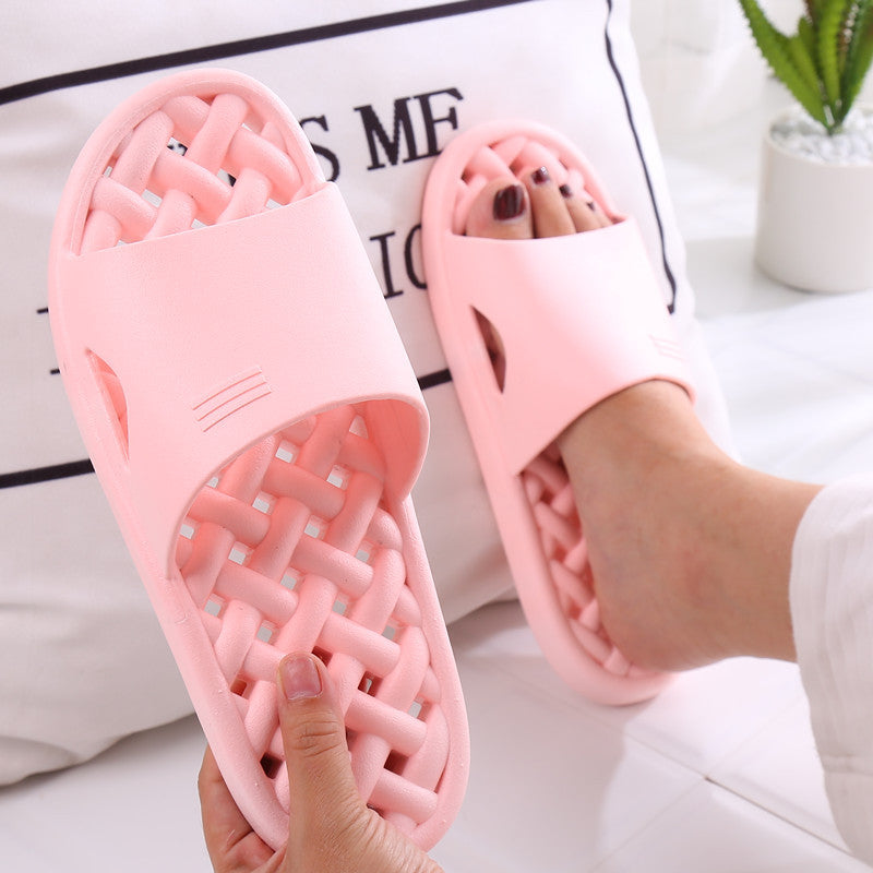 Men Women Bathroom Slippers Quick Dry