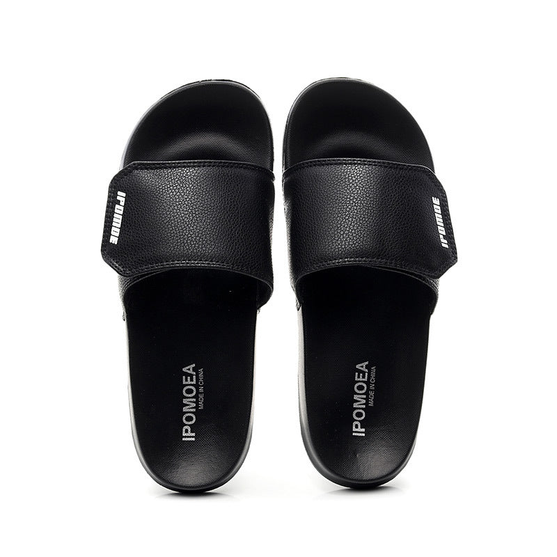 Men Slide Slippers Adjustable Sport Sandals