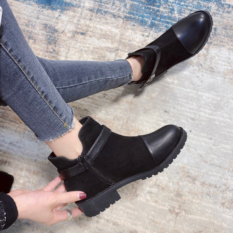 Women's Fashion Rainboots Ankle Boots