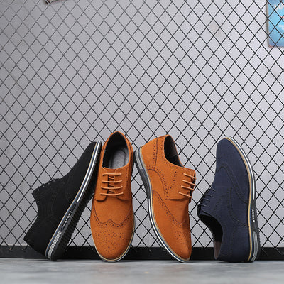 Men Oxfords Casual Shoes Breathable