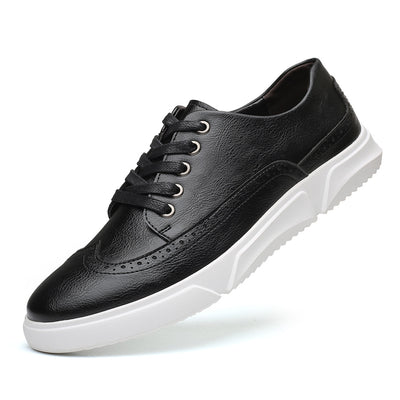 Men Casual Shoes Leather