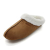 Men's & Women's 2019 Winter Slippers Memory Foam Suede House Sandals