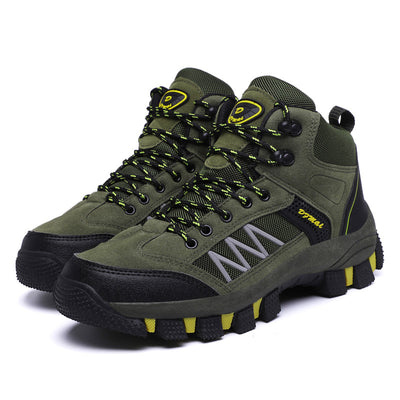 Men's Hiking Shoes Outdoor Sports Waterproof High-Tops 2019 New