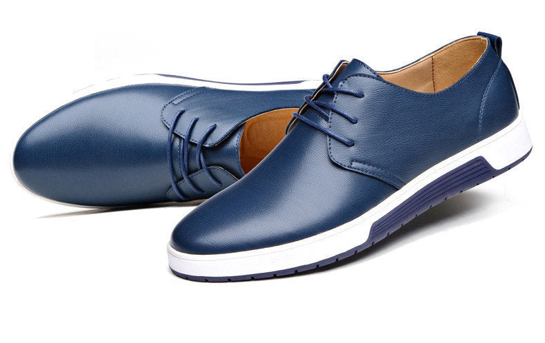 Men's Shoes Casual Leather Fashion Flat