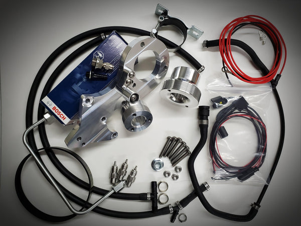 BMW M57 (335D) - Dual CP3 Injection Pump Kit w/ Low Pressure Supply