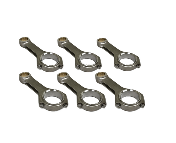 Carrillo Cummins 6.4L 6Cyl WMC Bolt - 5.9L Crank in 6.7L (.080in Longer) Block Connecting Rods - Set of 6