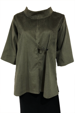 Clip top Olive Corduroy