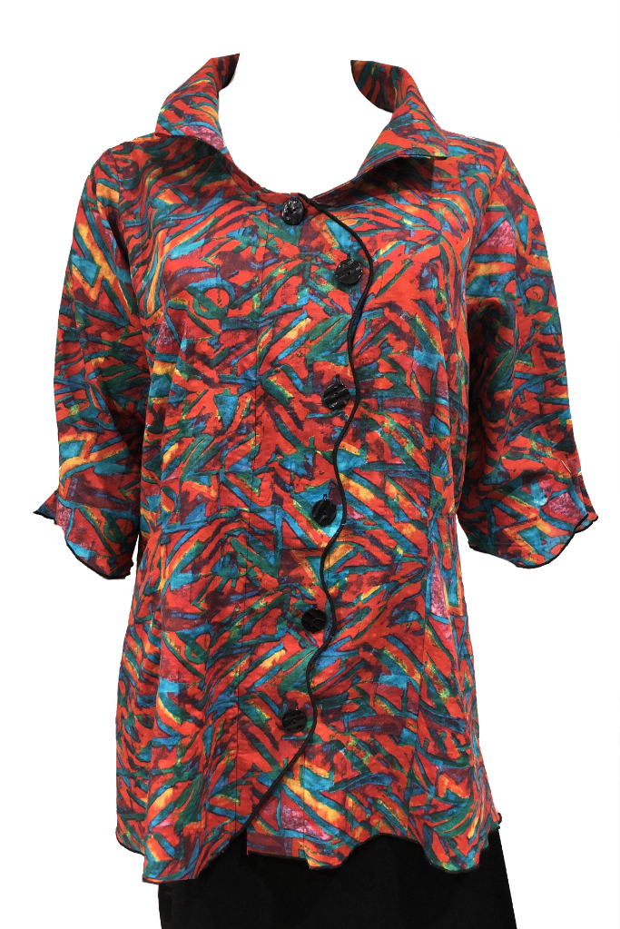 Serpent shirt Festive Cotton