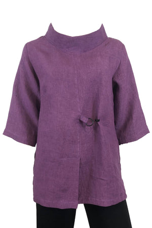 Clip top Grape Linen