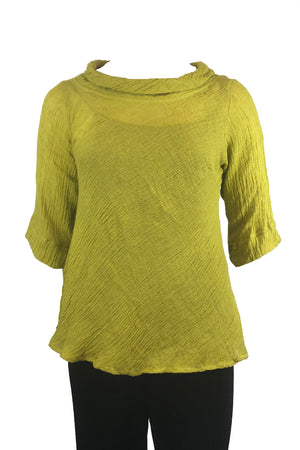 plus size yellow top