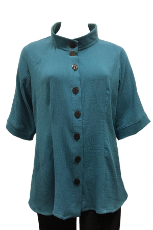 plus size cotton shirt
