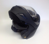 Gmax GM54S Modular Snowmobile Helmet w/ Electric Shield Option LED