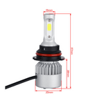 HB5 9007 1500W 225000LM CREE LED Headlight Lamp Bulb Kit Hi Lo 6000K