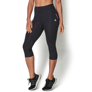 flint Women's 3/4 Running Tights