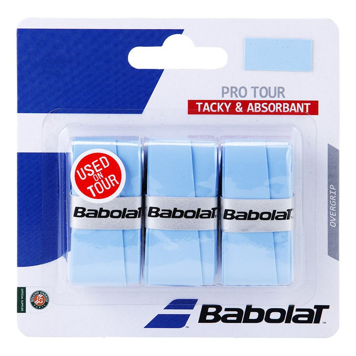 Babolat Pro Tour Overgrip (3 pack) - atr-sports